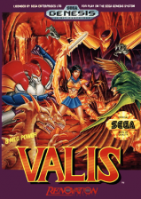 Valis Sega Genesis cover artwork