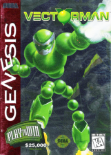 Vectorman Sega Genesis cover artwork