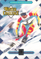Winter Challenge Sega Genesis cover artwork