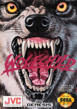 Wolfchild Sega Genesis cover artwork