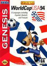 World Cup USA 94 Sega Genesis cover artwork