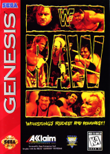 WWF Raw Sega Genesis cover artwork
