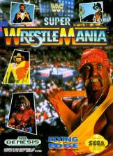 WWF Super WrestleMania Sega Genesis cover artwork