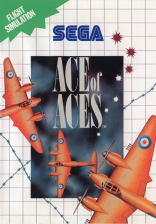 Ace of Aces Sega Master System cover artwork
