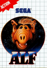 Alf Sega Master System cover artwork