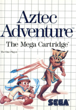 Aztec Adventure - The Golden Road to Paradise Sega Master System cover artwork