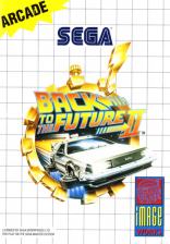 Back to the Future Part II Sega Master System cover artwork