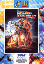 Back to the Future Part III Sega Master System cover artwork