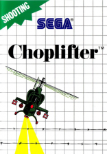 Choplifter Sega Master System cover artwork