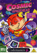 Cosmic Spacehead Sega Master System cover artwork
