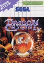 Dragon Crystal Sega Master System cover artwork