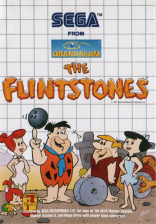 Flintstones, The Sega Master System cover artwork