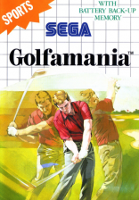 Golfamania Sega Master System cover artwork