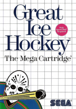 Great Ice Hockey Sega Master System cover artwork