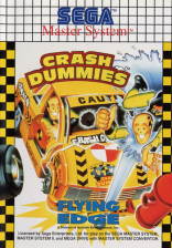 Incredible Crash Dummies, The Sega Master System cover artwork