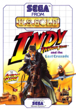 Indiana Jones and the Last Crusade Sega Master System cover artwork