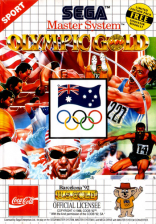 Olympic Gold Sega Master System cover artwork