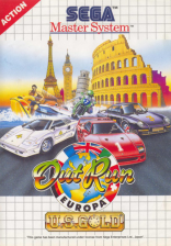 Out Run Europa Sega Master System cover artwork