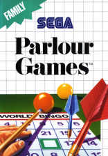 Parlour Games Sega Master System cover artwork