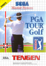 PGA Tour Golf Sega Master System cover artwork