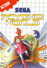 Psychic World Sega Master System cover artwork