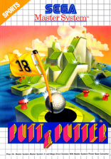 Putt & Putter Sega Master System cover artwork