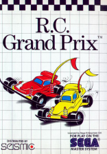 R.C. Grand Prix Sega Master System cover artwork