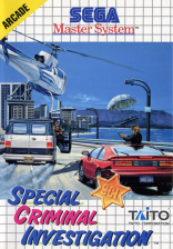Special Criminal Investigation Sega Master System cover artwork