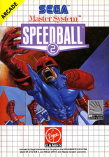 Speedball 2 Sega Master System cover artwork