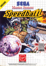 Speedball Sega Master System cover artwork