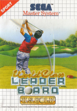 World Class Leader Board Sega Master System cover artwork