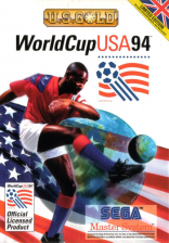World Cup USA 94 Sega Master System cover artwork