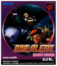 Dive Alert - Becky's Version SNK Neo Geo Pocket cover artwork