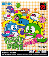 Puzzle Bobble Mini SNK Neo Geo Pocket cover artwork