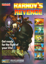Karnov's Revenge : Fighter's History Dynamite SNK NEO GEO cover artwork