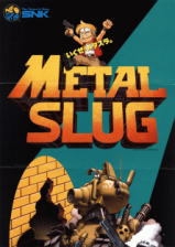Metal Slug - Super Vehicle-001 SNK NEO GEO cover artwork