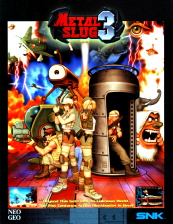 Metal Slug 3 SNK NEO GEO cover artwork