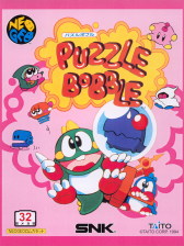 Puzzle Bobble : Bust-a-Move SNK NEO GEO cover artwork