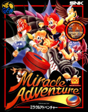 Spinmaster : Miracle Adventure SNK NEO GEO cover artwork