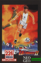 Super Sidekicks 4 - The Ultimate 11 SNK Football Championship SNK NEO GEO cover artwork