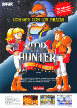 Top Hunter: Roddy & Cathy SNK NEO GEO cover artwork