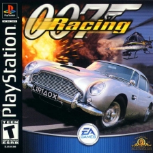 sony playstation 1 games. 007 racing sony playstation cover artwork playstation 1 games p