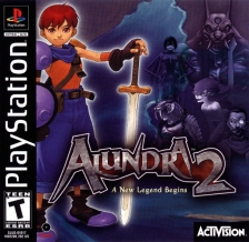 Alundra 2 - A New Legend Begins Sony PlayStation cover artwork