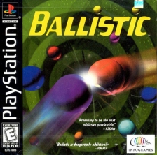 Ballistic Sony PlayStation cover artwork
