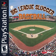 Big League Slugger Baseball Sony PlayStation cover artwork
