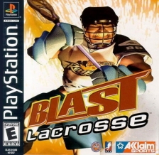 Blast Lacrosse Sony PlayStation cover artwork