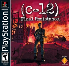 C-12 - Final Resistance Sony PlayStation cover artwork