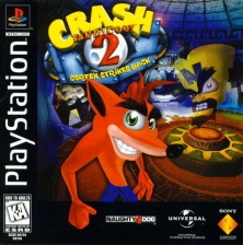Crash Bandicoot 2 - Cortex Strikes Back Sony PlayStation cover artwork