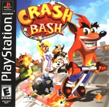 Crash Bash Sony PlayStation cover artwork