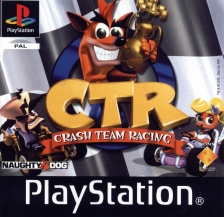 CTR - Crash Team Racing Sony PlayStation cover artwork